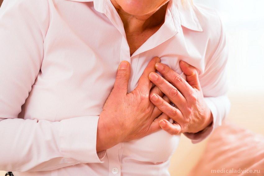 Симптомы и признаки инфаркта